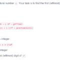 Tìm số đầu tiên của chữ số