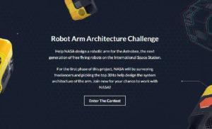 NASA tìm kiếm người thiết kế robot từ freelancer