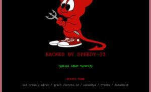 Nhiều website của tỉnh Bình Định bị cùng một hacker tấn công